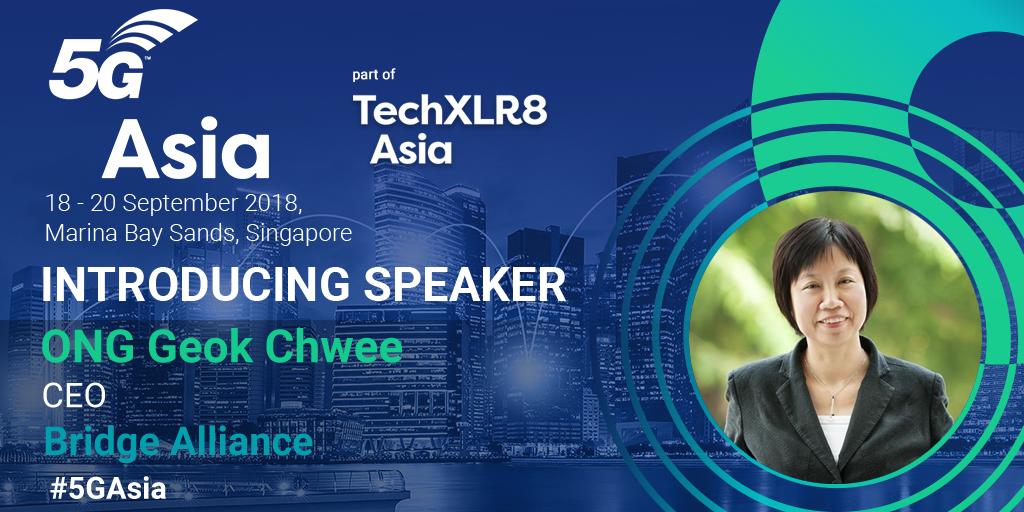 Geok Chwee, speaker at 5G Asia 2018